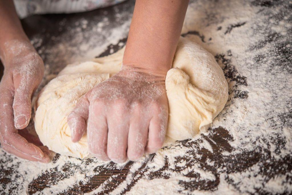 فرآیند پخت نان